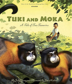 [ Tuki and Moka - Book Cover Image ]